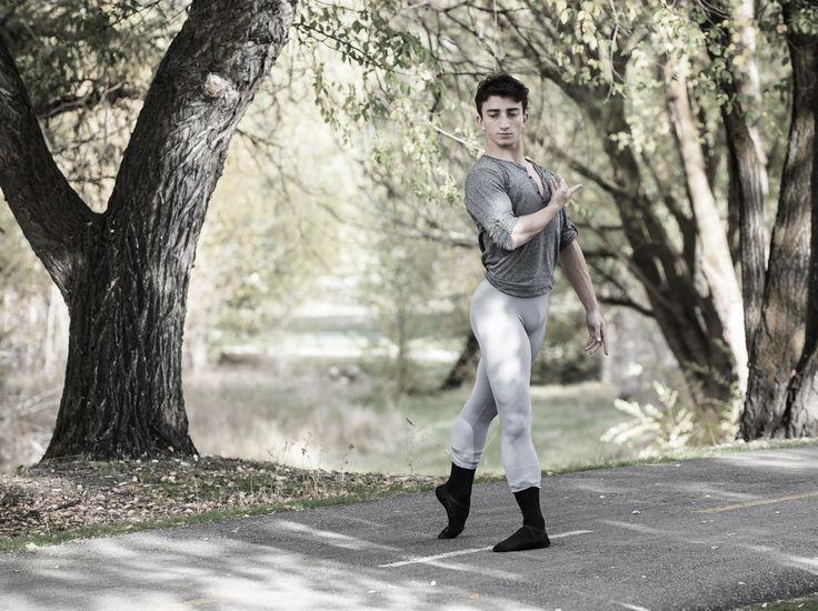 """pas-de-duhhh: """" Colton West dancer with Eugene Ballet Company Photograph by Mike Reid """""""
