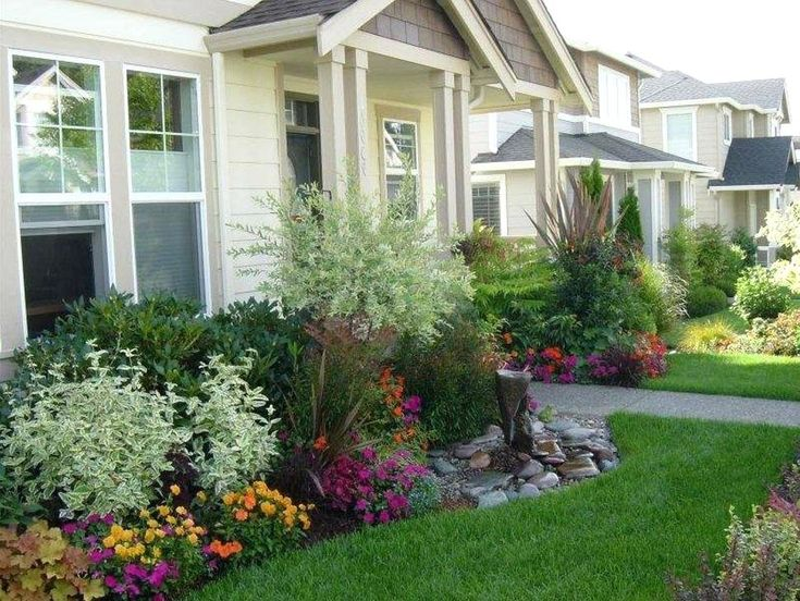 no maintenance front yard landscaping large size of garden ...