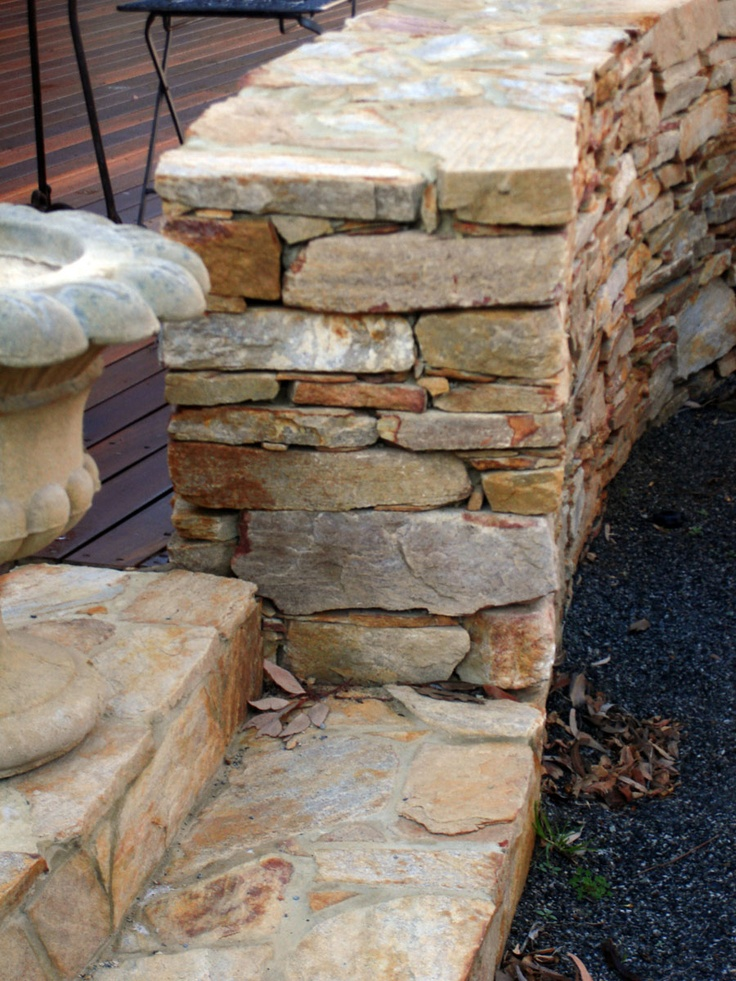 Toodyay stone - dry laid
