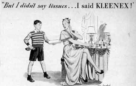 Intrinseco y expectorante: Historia de los Kleenex: De limpiador facial a pañuelo desechable