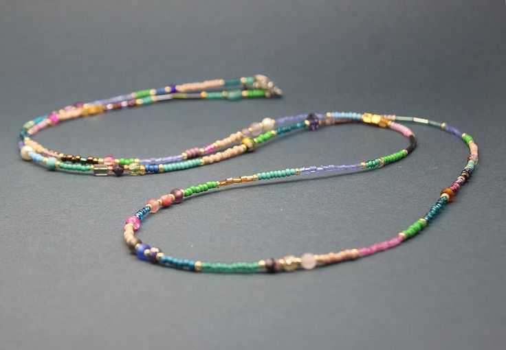 Armbänder - Kette Armband Roccailes Gipsy Hippie Boho - ein Designerstück von LeneInLove bei DaWanda