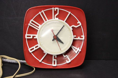 36 Best Images About Mid Century Clocks On Pinterest Ibm