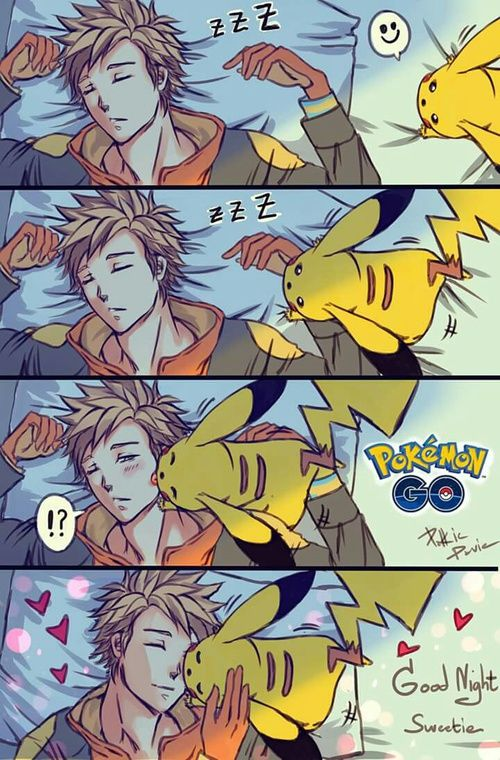 """*read with """"I just cant way to be king"""" rythm* I wanna be that pikachu, so i can kiss Spark"""