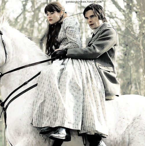 Hans Matheson and Tess of the D'Urbervilles