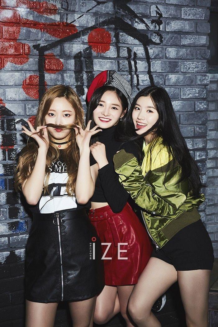Eunwoo, Kyulkyung, Xiyeon (Pristin) - Ize Magazine May '17