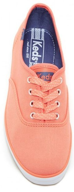 great #coral Keds for summer http://rstyle.me/n/j77szr9te