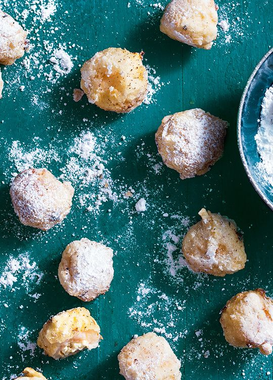 How to make Lychee Fritters