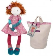 Fanette is part of the gorgeous Les Coquettes range of rag dolls from Moulin Roty
