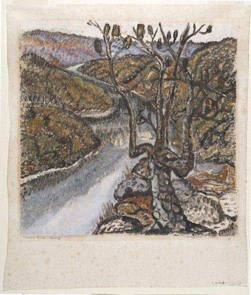 An image of Cowan Creek (1) by Margaret Preston