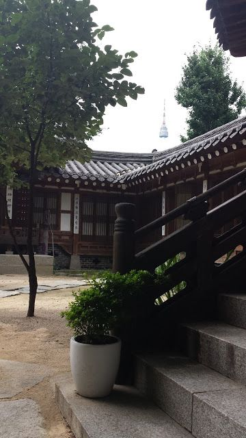 Traditional Courtyard. Travel Journal: Republic of South Korea, 2013