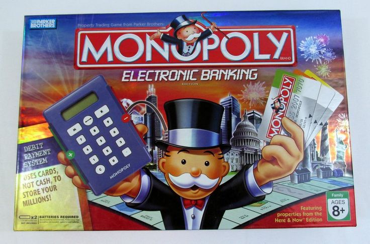 MONOPOLY Electronic Banking: Every college dorm room needs a supply of GAMES!