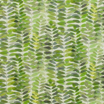 PECAN LEAVES  fabric