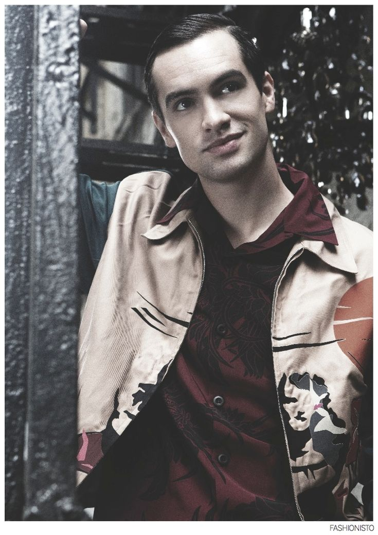 brendon urie 2015 - Brendon Urie of Panic! At The Disco for Fashionisto #10