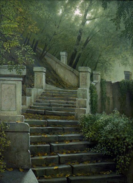 Парошин Владимир. Старая лестница