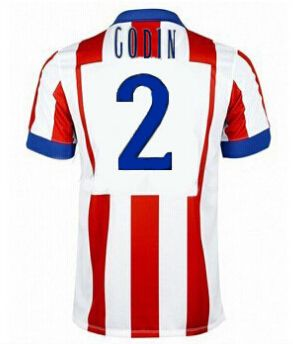 Atletico Madrid magliette da calcio 2015 GODIN 2 - Home
