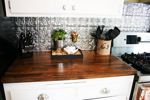 25 Best Tin Tile Backsplash Ideas On Pinterest Slate Backsplash Ceiling Tiles Painted And