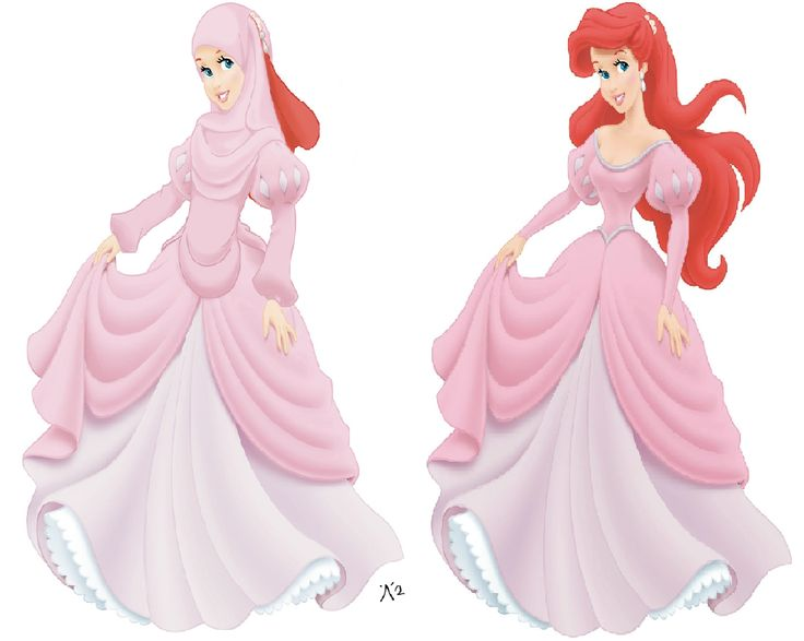 Learning Soul: Disney Princesses in Hijab