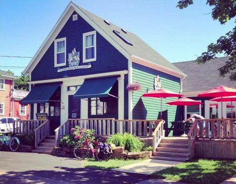 Stop in at the Landmark Cafe in Victoria by the Sea for a delicious meal on the deck! http://peiflavours.ca/index.php/flavours-trail/listing/Landmark-Cafe/