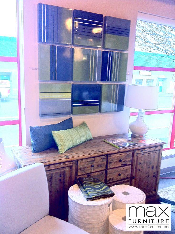 Wonderful Genoa Buffet, Honey Comb $1295 CAD   Reclaimed Wood   Max Furniture Victoria