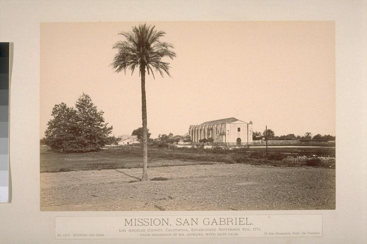 mission san gabriel pedro cambon and San gabriel arcángel, founded in 1771 by the spanish friars angel fernandez de somera and pedro benito cambon, was located near present-day los angeles.
