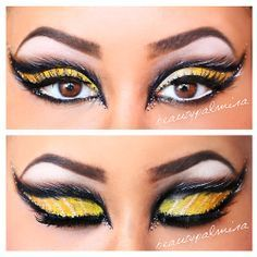 queen bee face painting