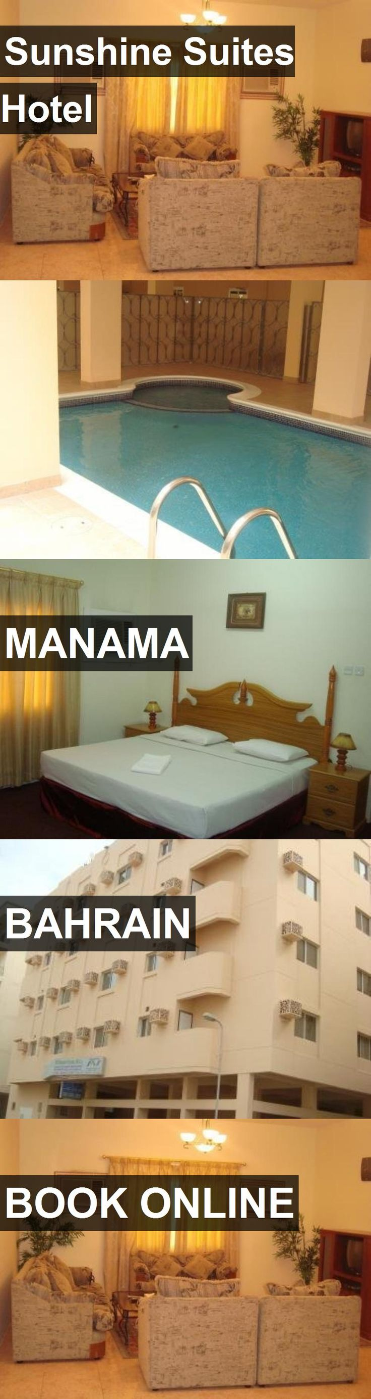 Hotel Sunshine Suites Hotel in Manama, Bahrain. For more information, photos, reviews and best prices please follow the link. #Bahrain #Manama #SunshineSuitesHotel #hotel #travel #vacation