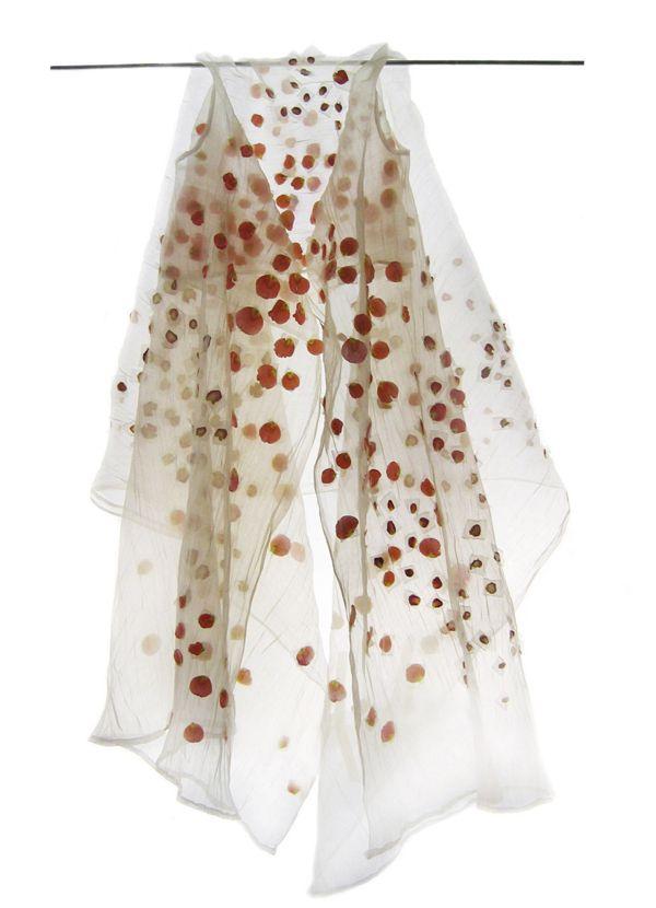 eco-fashion, ephemera fashion Rosen Mantel * Rose coat by Beatrice Oettinger