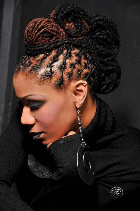 images of new hair styles best 25 locs styles ideas on loc updo 4616