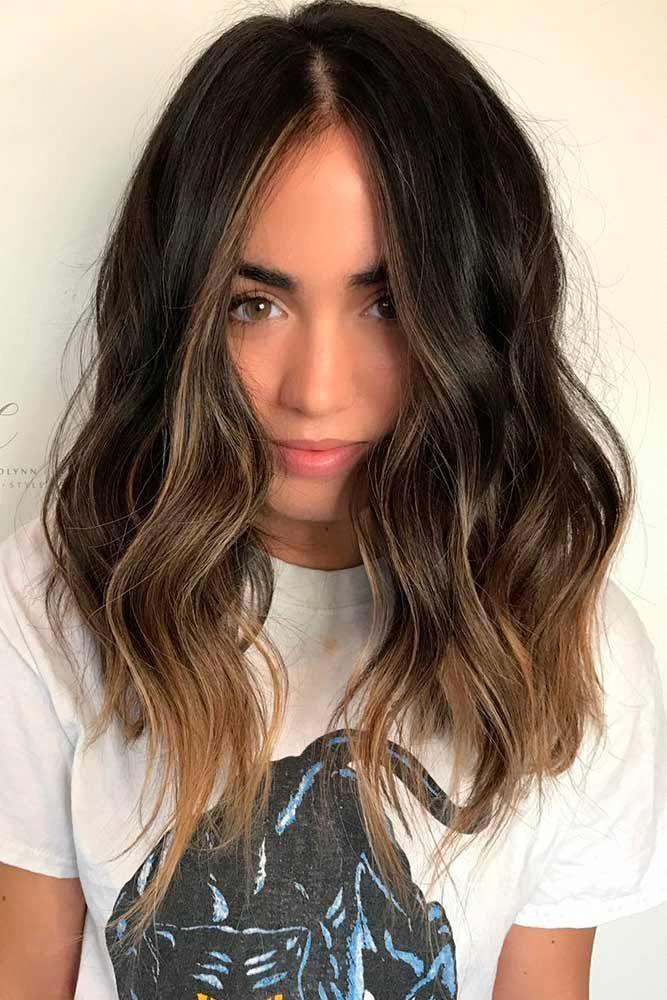 Pin On Shoulder Length Brunette Hair