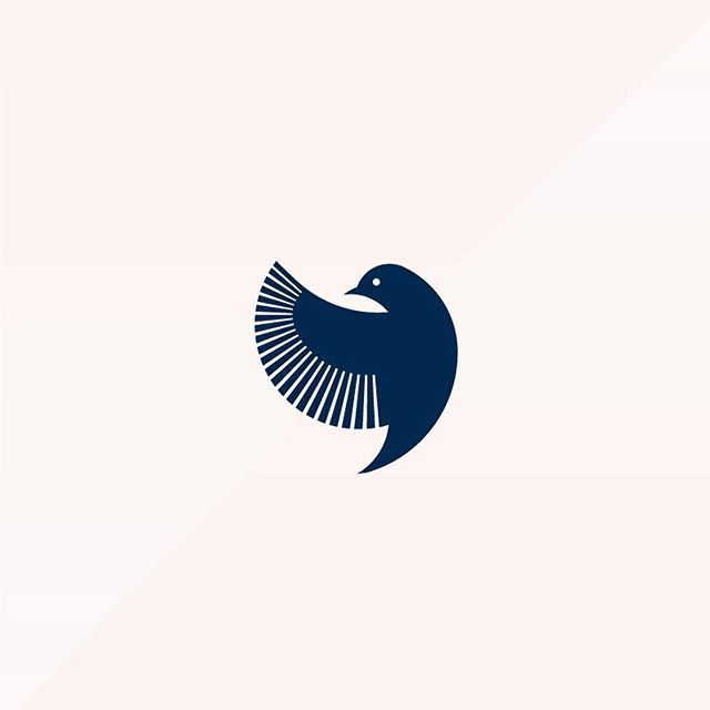 Logo inspiration: Bird Logo by Corinna Djaferis @thedigitalparade WANT MORE DESIGN INSPIRATION? Follow us at @twinewebdesign @JoinTwine Hire quality logo and branding designers at Twine. Twine can help you get a logo, logo design, logo designer, graphic design, graphic designer, emblem, startup logo, business logo, company logo, branding, branding designer, branding identity, design inspiration, brandinginspiration and more.