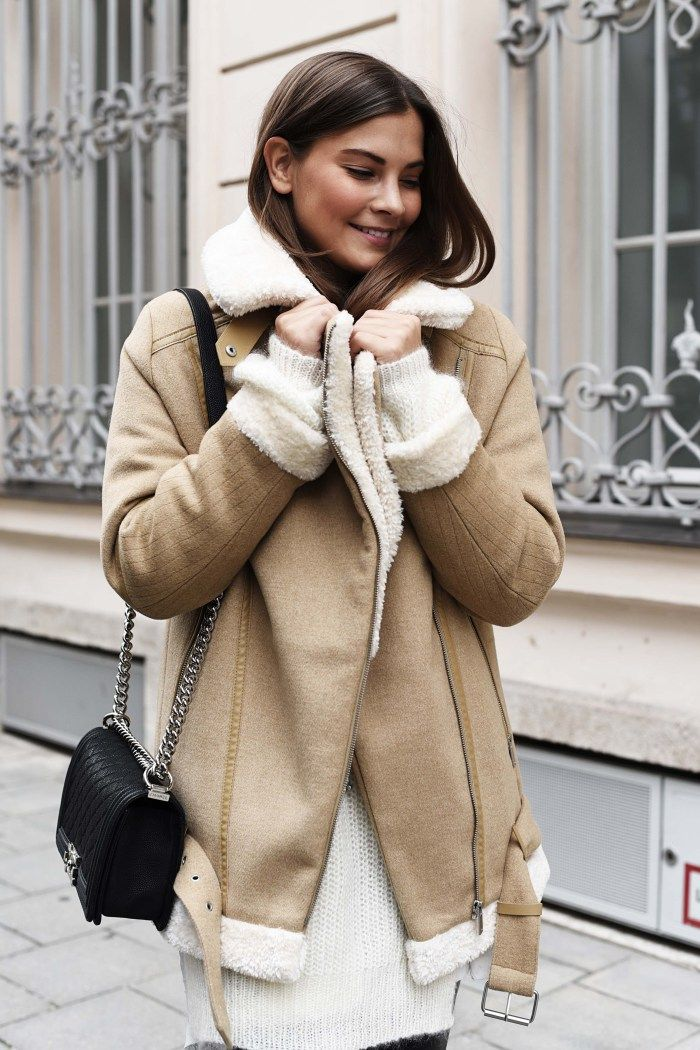 The seemingly extinct Zara shearling jacket. | @andwhatelse                                                                                                                                                                                 Mehr
