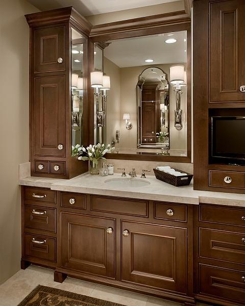Bathroom Remodel Arizona: 41 Best Tile Work Behind Bathroom Mirror Images On