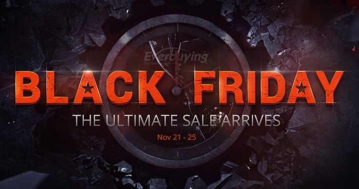 Black Friday Sale, from Everbuying