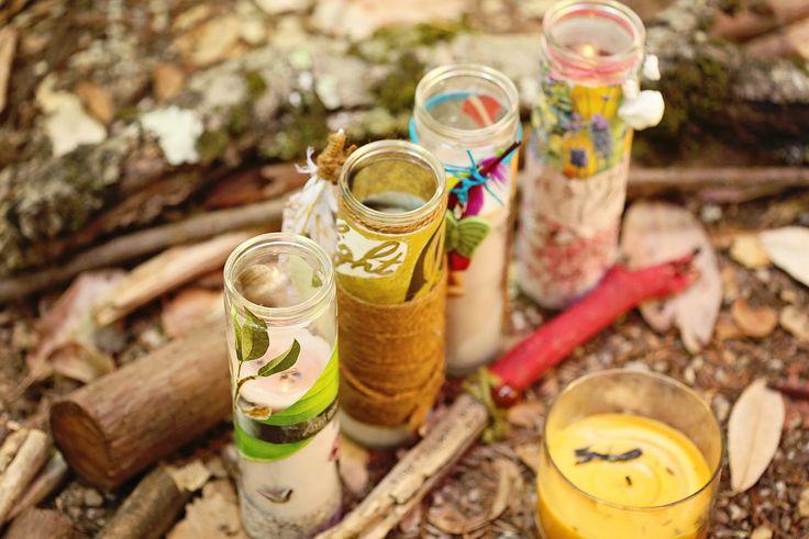 meditációs ygertya késztése sacred place-sacred candle