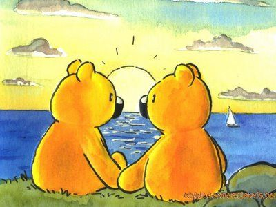 bear romance (artist: L.J. Vis)