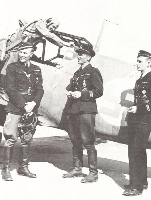 Finnish air force pilots