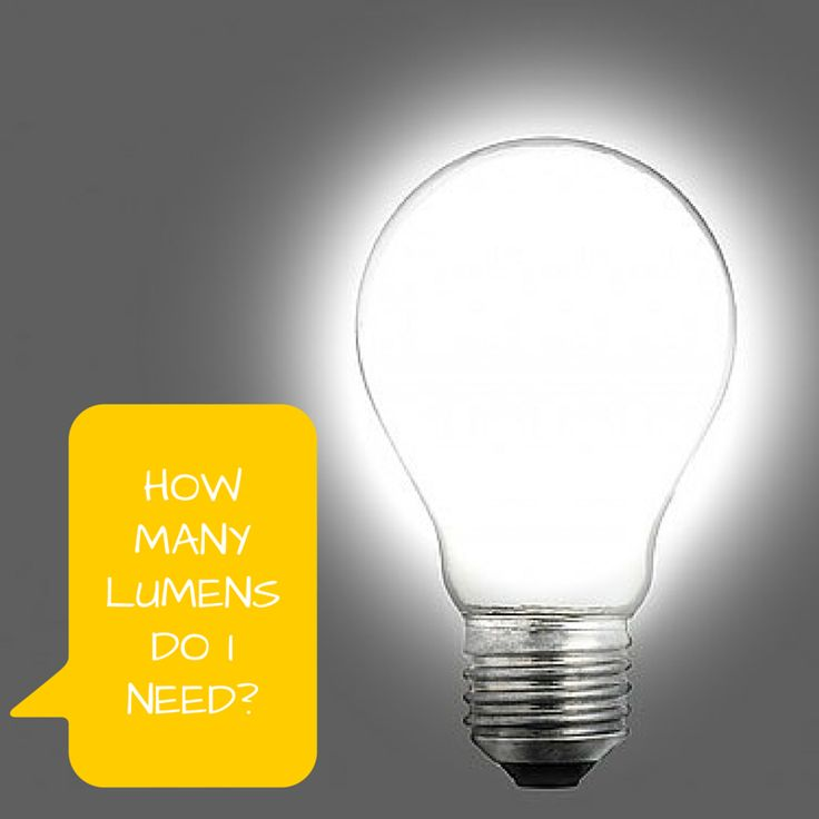 How many lumens do you need? The expert lighting staff at 1000Bulbs.com  answers this question and more on the blog.
