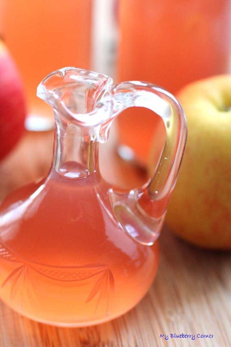 Domowy ocet jabłkowy - My Blueberry Corner