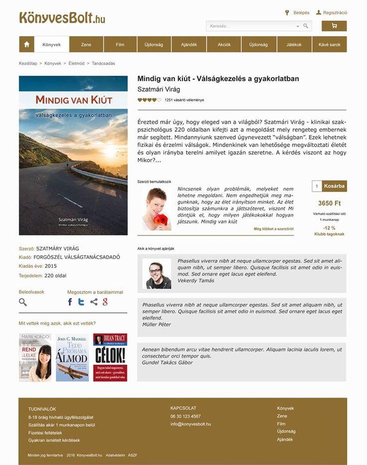 Eladási oldal | Kreatív Webdesign Tanfolyam