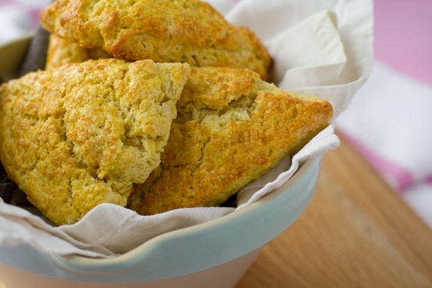 Cardamom Scented Orange & Almond Scones