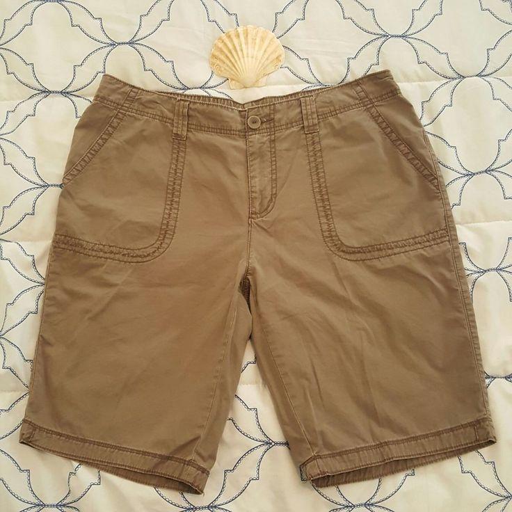 St Johns Bay womens Long Shorts Plus 16W Elastic Waist | Clothing, Shoes & Accessories, Women's Clothing, Shorts | eBay!