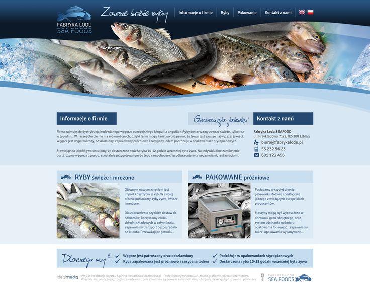 WebDesign 2014 - grafika dla firmy SeaFood