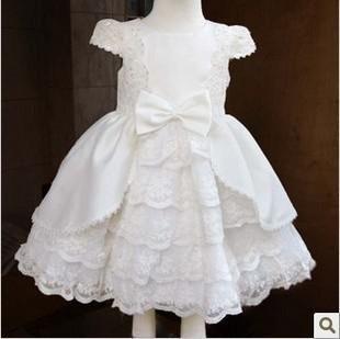 Дети дети принцесса платье ребенка цветок девочки платья Свадебное платье с длинным рукавом платье  — 2486.6р.