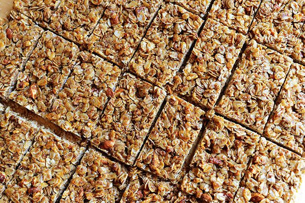 Granola Bar Recipe, Bars Pioneer, Food, Homemade Granola Bars, Bars ...
