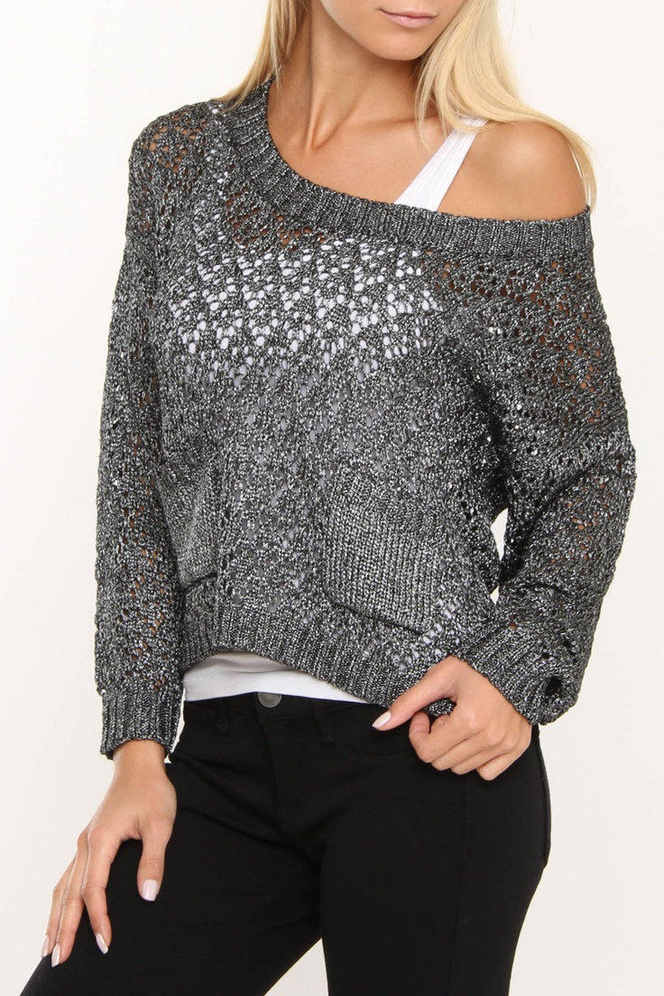 Silver Sweater