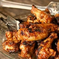 "Smoky BBQ Wings by Tabasco | ""Whether cooked in the oven or on the grill, these smoky wings are sure to be a hit at your next game-day party."""