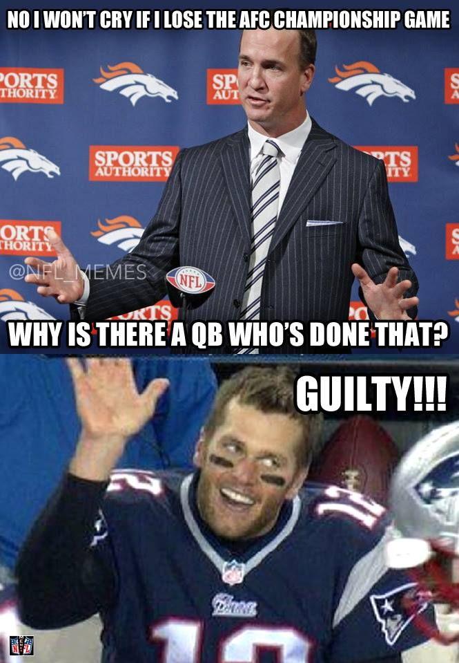 Peyton Manning, Tom Brady - #NFL