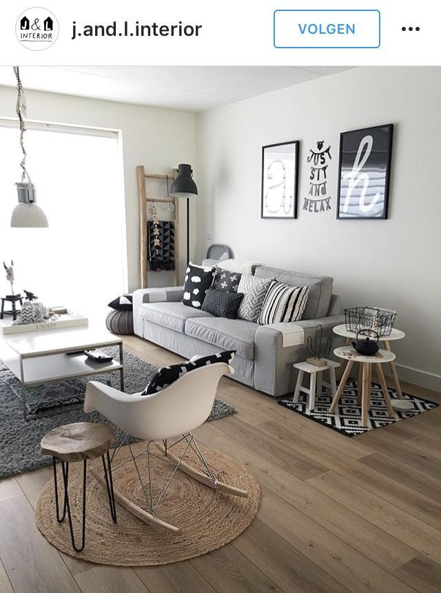 Scandinavian Living Room Style Scandinavian Livingroom Living Room Decor Apartment Small Apartment Living Room Small Room Decor
