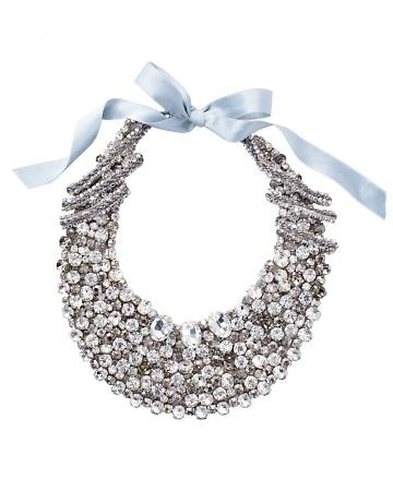 A glitzy Rivini bib necklace
