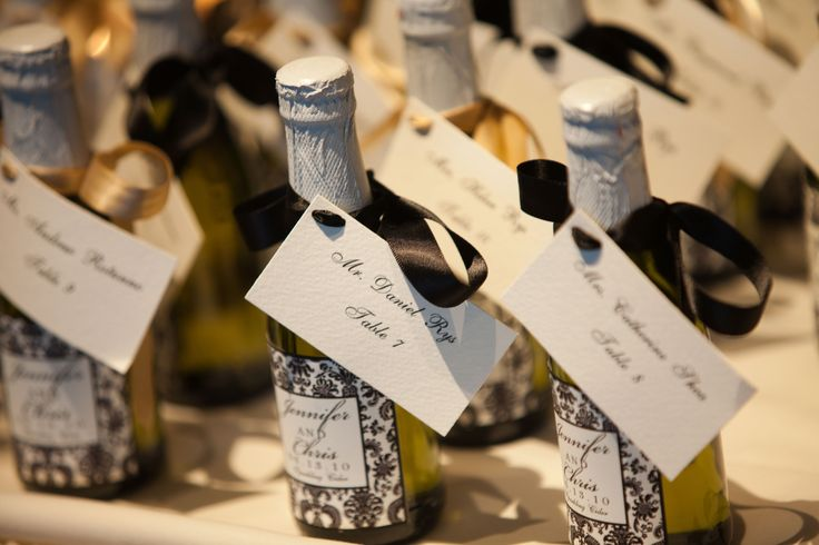 Mini Personalized Wine Bottles - would be awesome as a favor/gift for the guest at your wedding.